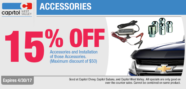 Come save on accessory purchase and installation in Dallas, OR