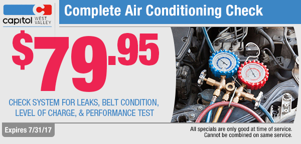 Air Conditioning Check Service Special in Dallas, OR