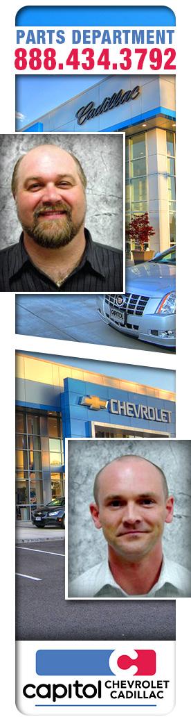 Chevrolet Cadillac Parts Center Salem, Oregon