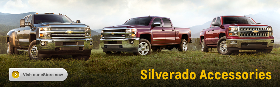 Genuine Chevrolet Silverado Accessories in Salem, OR