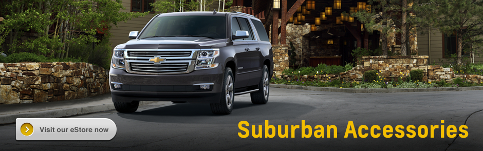 Genuine Chevrolet Suburban Accessories Serving Hayesville, OR