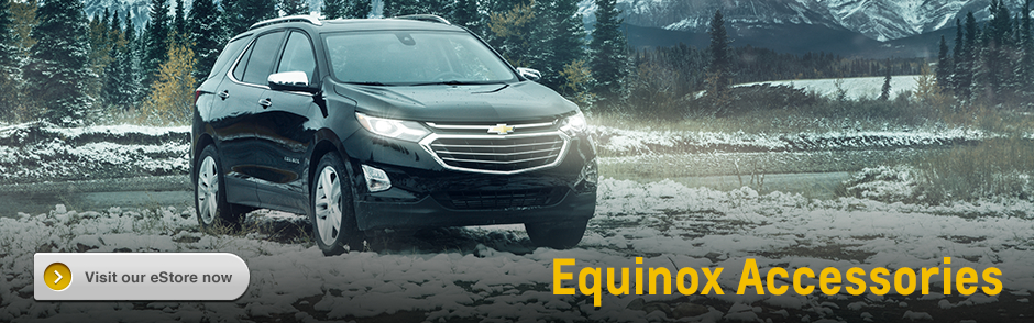 Chevrolet Equinox Accessories in Salem, OR