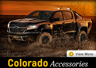 Click For Chevrolet Colorado Accessories in Salem, OR