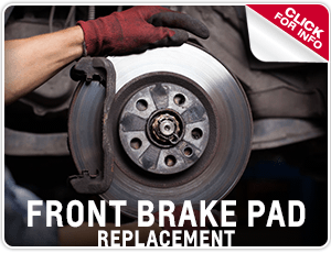 Browse our front brake pad replacement service information in Salem, OR
