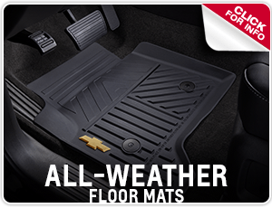 Click to learn about Genuine Chevrolet All Weather Floor Mats in Salem, OR