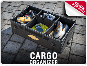 Click to learn about Genuine Chevrolet Cargo Organizer in Salem, OR