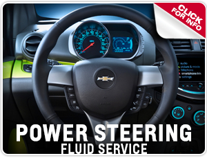 Click For Details on Chevrolet Power Steering Fluid Service Serving West Salem, OR