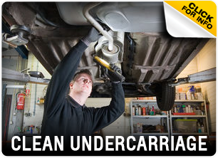 Chevrolet Undercarriage Cleaning Service