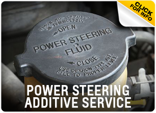 Power Steering Fluid Additive Service