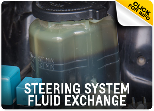 Steering System Fluid Exchange Service