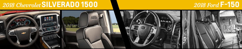 2018 Chevrolet Silverado 1500 vs 2018 Ford F-150 | Chevy