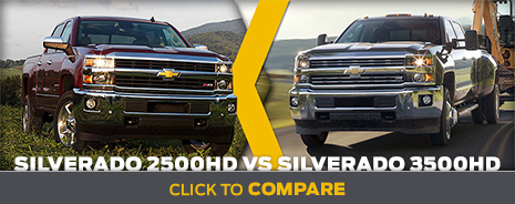Click To Compare The 2014 Chevrolet Silverado 2500HD & Silverado 3500HD Models Salem, OR