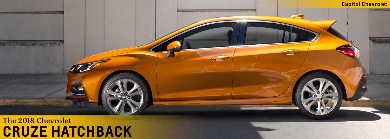 2018 Chevrolet Cruze Hatchback Compact Car Model Information