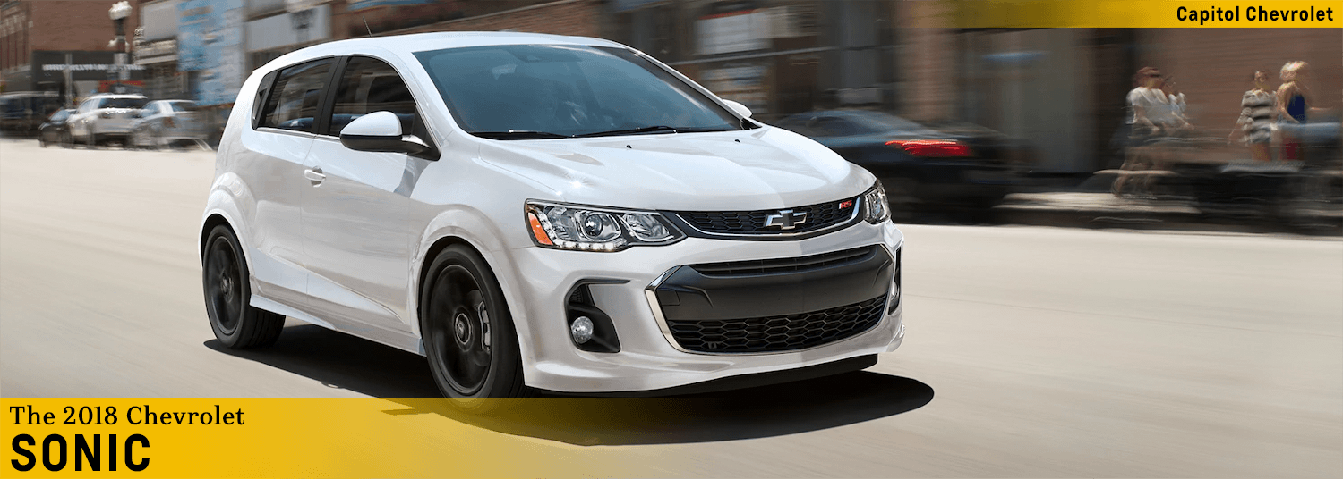2018 Chevrolet Sonic Model Small Car Research Information Salem Or