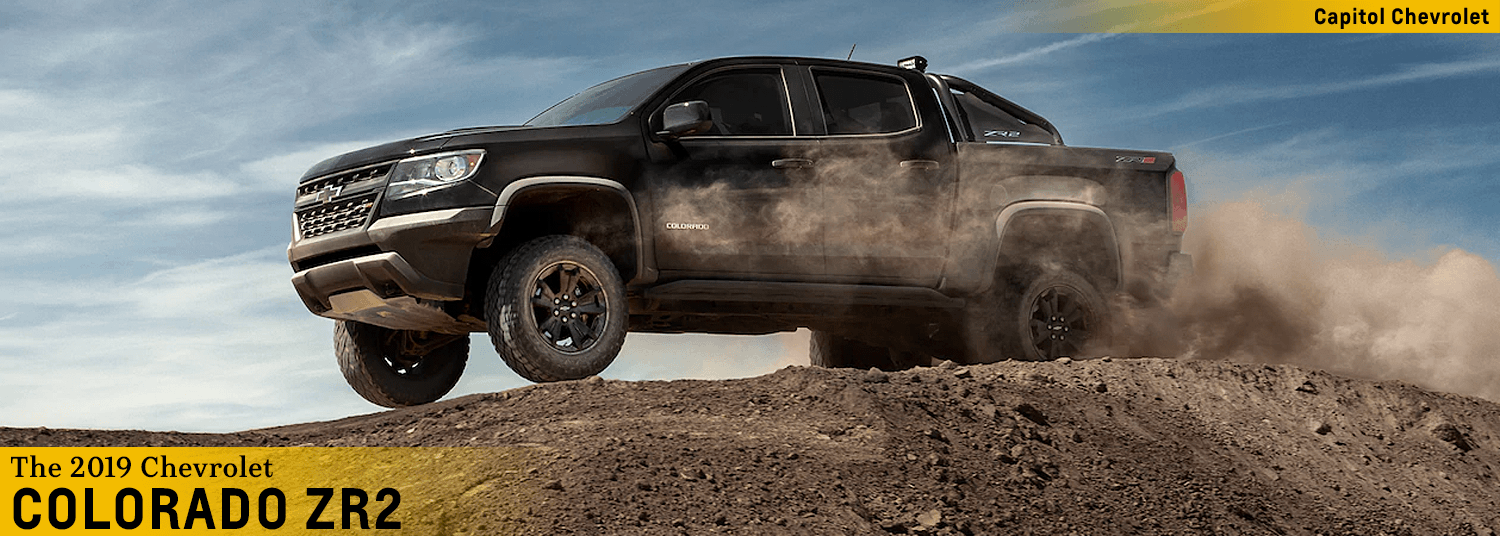 2019 Chevy Colorado Zr2 Off Road Midsize Pickup At Capitol Chevy