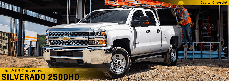 2019 Chevrolet Silverado 2500hd Features Heavy Duty Truck In Salem