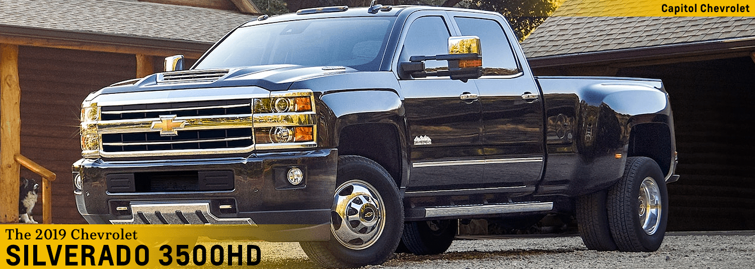 2019 Chevy Silverado 3500hd Model Features Midsize Truck For Salem