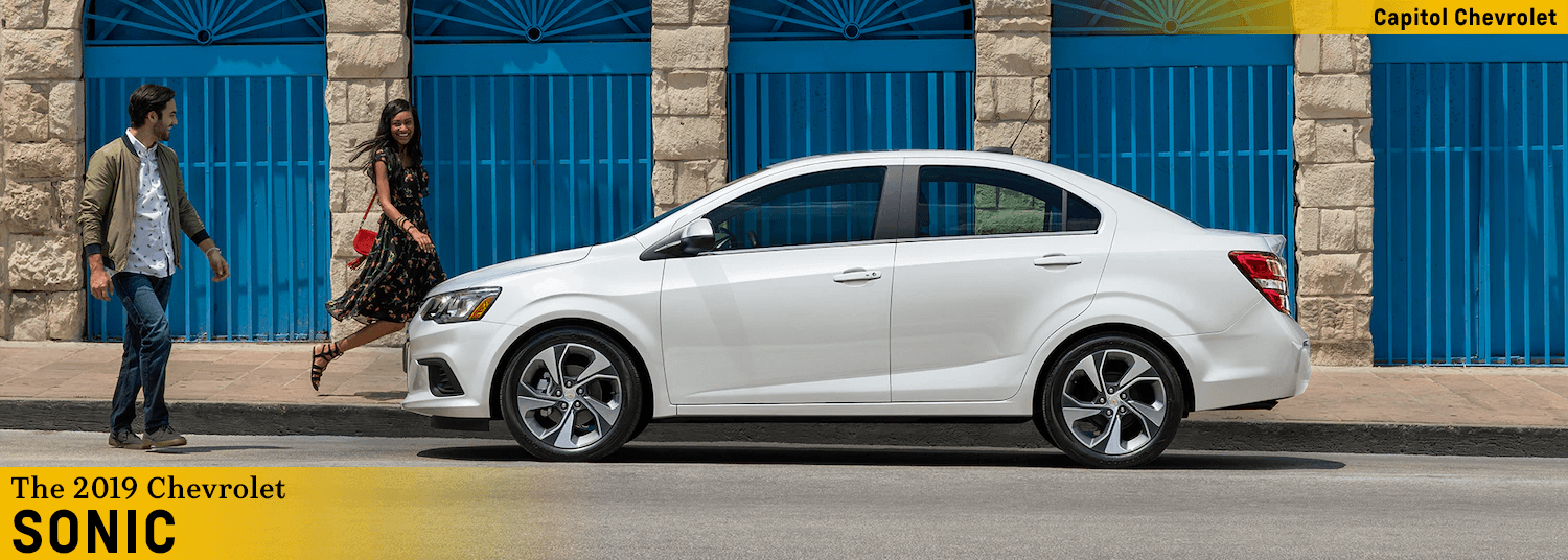Discover The New 2019 Chevy Sonic At Capitol Chevrolet In