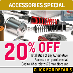 Click for Details on Our 20% Off Accessories Installation Service Special in Salem Near Keizer, OR