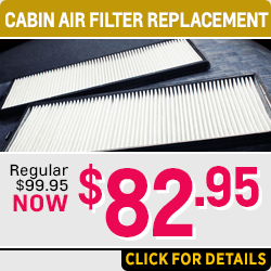 Click for Details on Our Chevrolet Cabin Air Filter Service Special in Salem Near Keizer, OR