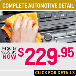 Click for Details on Our Chevrolet Automotive Detail Service Special in Salem Near Keizer, OR