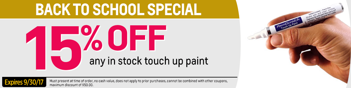 Save On Genuine Chevrolet Touch Up Paint with this Chevy parts special at Capitol Chevy in Salem Near Keizer, OR
