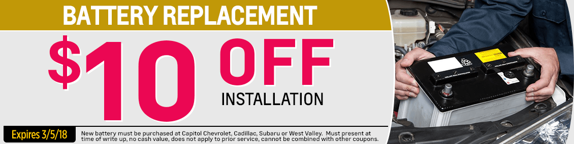 Save on our Battery Replacement service at Capitol Chevy in Salem Near Keizer, OR