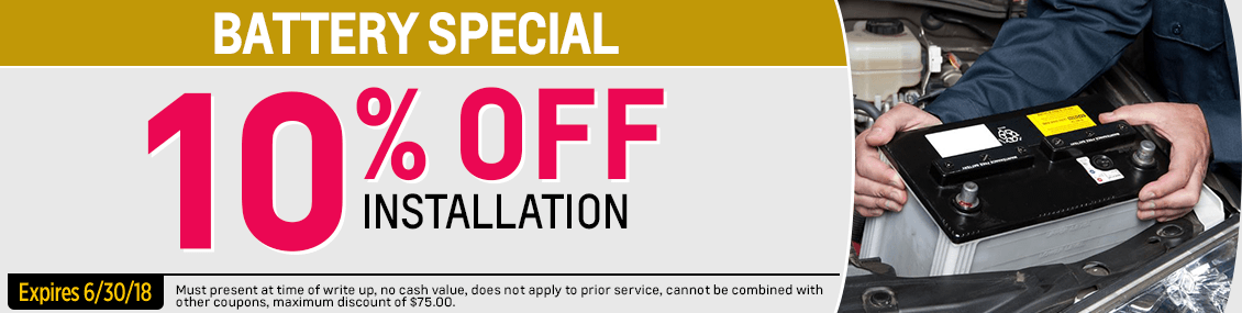 Save on our Battery Installation service special at Capitol Chevy in Salem Near Keizer, OR