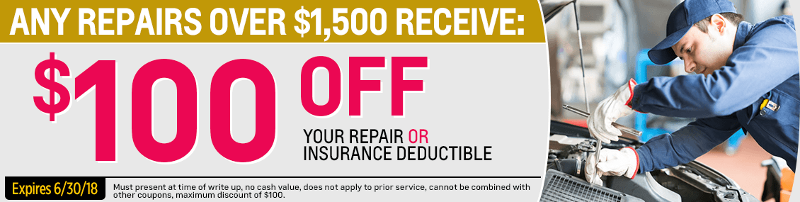 Save with our Collision or Body Repair service special at Capitol Chevy in Salem Near Keizer, OR
