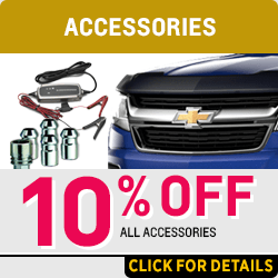 Browse our accessories part special at Capitol Chevrolet in Salem, OR