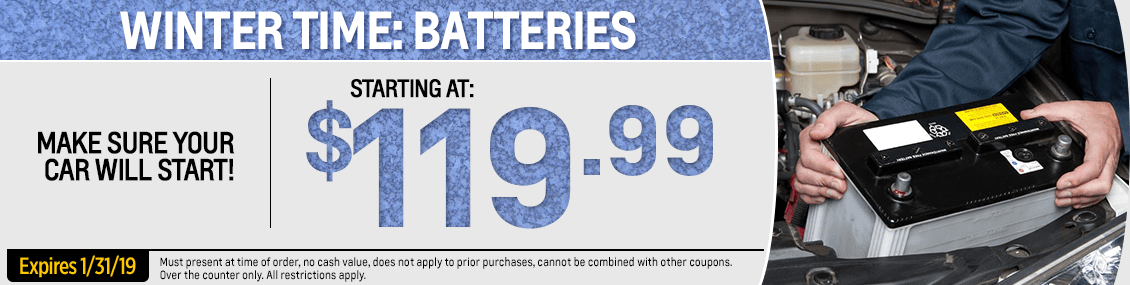 Save on a genuine Chevrolet Winter Car Battery at Capitol Chevy in Salem Near Keizer, OR