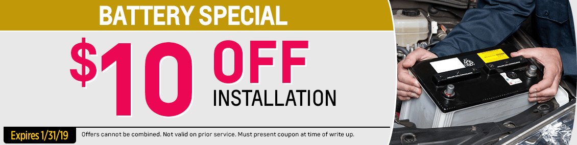 Save with our Battery Replacement service special from our service department at Capitol West Valley in Dallas, OR