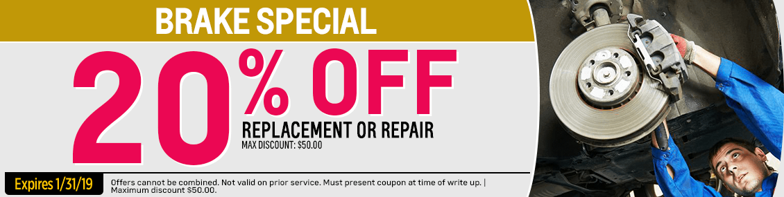 Save with our Brake Service service special from our service department at Capitol West Valley in Dallas, OR