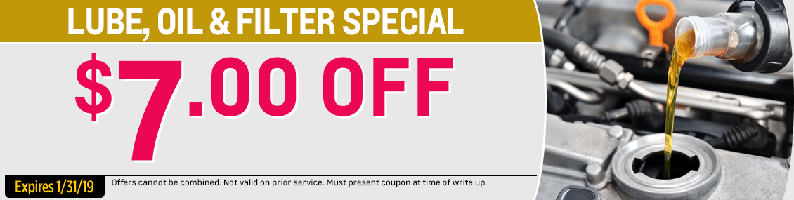 Save on our Lube, Oil & Filter service special from our service department at Capitol West Valley in Dallas, OR