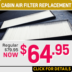 Browse our Cabin Air Filter service special at Capitol Chevrolet in Salem, OR