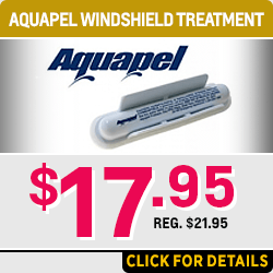 Aquapel windshield treatment service special at Capitol Chevrolet in Salem, OR