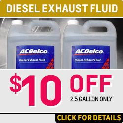 Save on a genuine Chevrolet Diesel Exhaust Fluid Parts Special at Capitol Chevy in Salem Near Keizer, OR