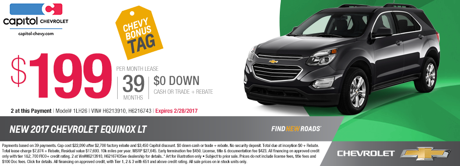 2017 Chevrolet Equinox LT Sales Special in Salem, OR