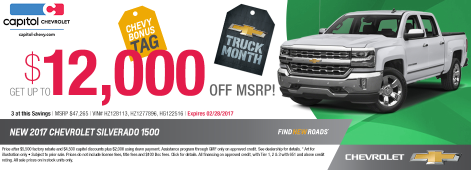 2017 Chevrolet Silverado 1500 LT Sales Special in Salem, OR