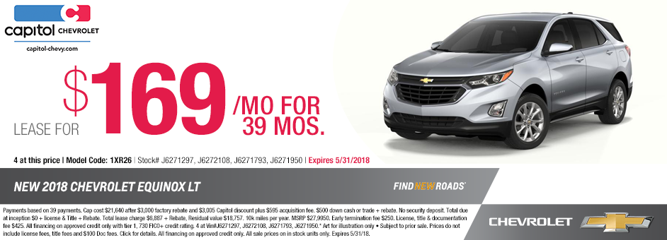 Salem New Chevy Equinox Lease Offers Sales Specials Oregon