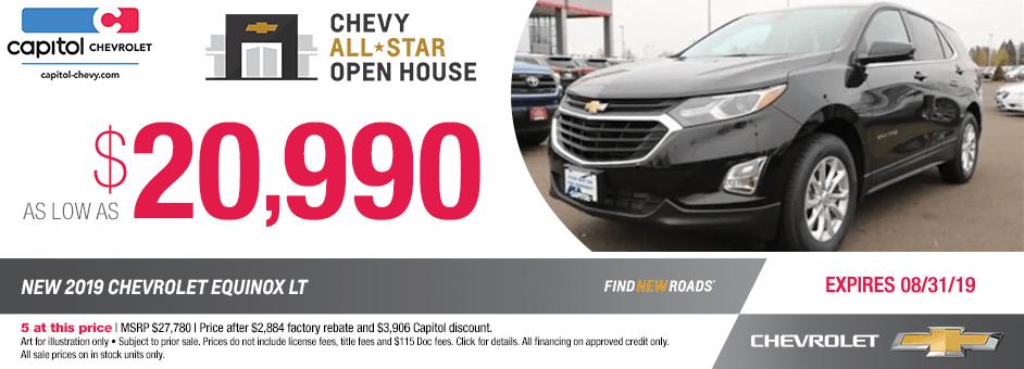 2019 Chevrolet Equinox LT Sales Special in Salem, OR