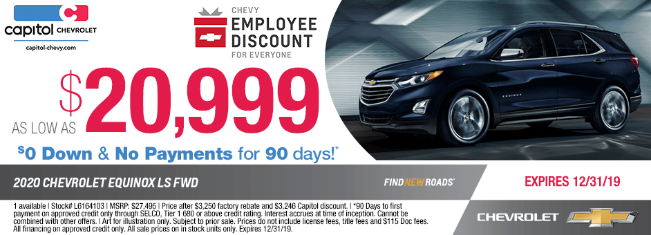 2020 Chevrolet Equinox LS FWD Sales Special in Salem, OR