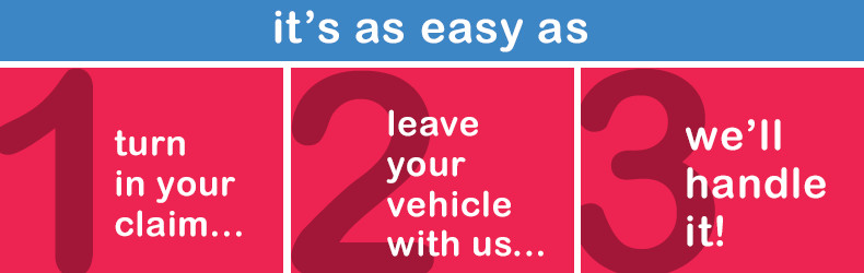 Collision Center Easy Steps to Repair in Salem, OR