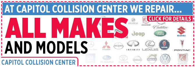 Get Collision Repairs for All Vehicle Makes & Models in Salem, OR