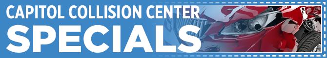 Capitol Auto Group Collision Center Special Offers serving Salem, Oregon