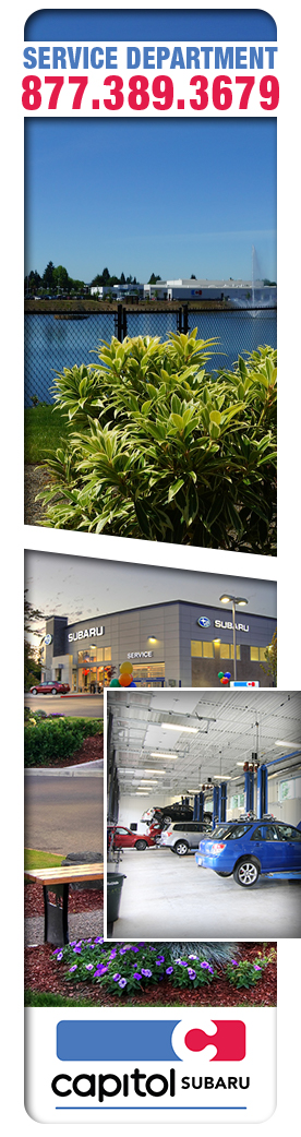Capitol Subaru Service Department in Salem, OR