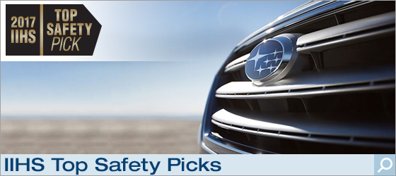 Click to view our IIHS Top Safety Pick Subaru models