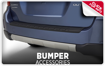 Click to learn more about genuine Subaru bumper accessories with information provided by Capitol Subaru in Salem, OR