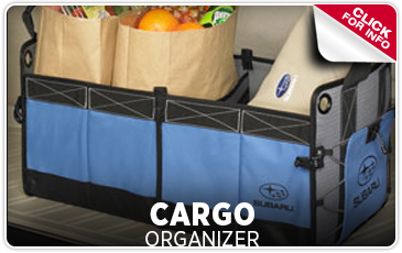 Click to learn more about genuine Subaru cargo organizers from Capitol Subaru in Salem, OR