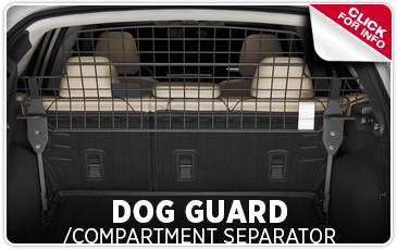 Get details about genuine Subaru dog guards/compartment separators in Salem, OR